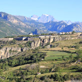 Explore and enjoy the village of Mont-Dauphin built by Vauban near the campsite of Guillestre in the Hautes-Alpes.