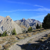 Visit the Ubaye Valley and the campsites at Guillestre or in the surroundings.