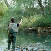 Het is fijn vissen in de rivieren le Guil en la Durance tijdens uw verblijf in de Hautes-Alpes.